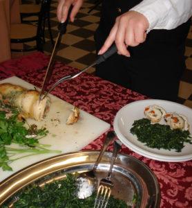 Come disporre le pietanze nel piatto