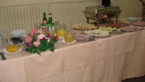 Buffet della prima colazione