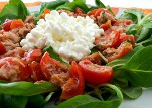 Esempio di insalata composta