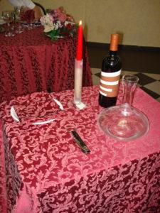 Materiale necessario per il servizio del vino