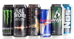Alcune delle bevande energetiche